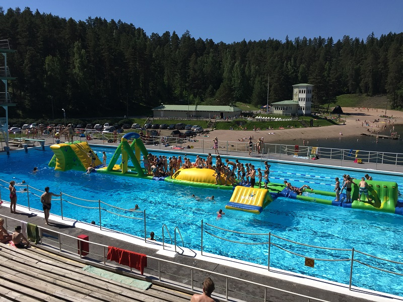 Ahvenisto open air pool