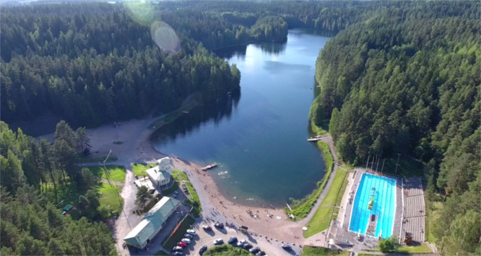 Ahvenisto olympic pool is sport venue of the year